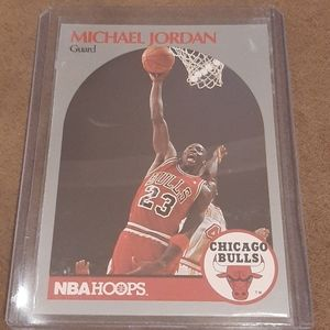 Michael Jordan 1990 NBA Card